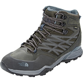 The North Face Hedgehog Hike Mid GTX Scarpe Uomo, Beluga Grey/Dark Slate Blue